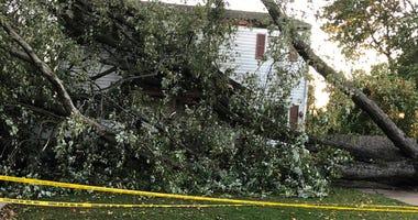 Copiague storm damage