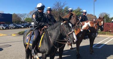 Nassau County mounted police