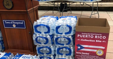 Hempstead Puerto Rico Donations