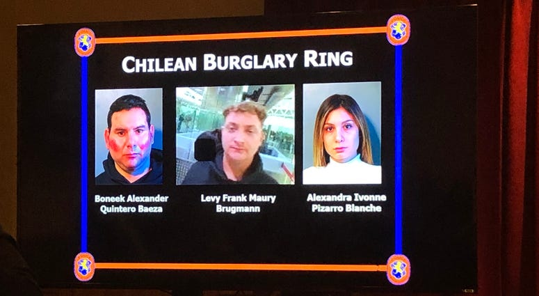 Chilean Burglary Ring