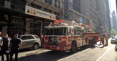 Times Square fire
