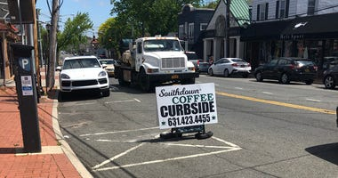 Curbside pickup on Long Island