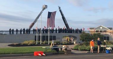 9/11 Memorial Service in Lido Beach