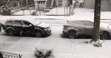 First Snowfall Of 2018 Winter Season