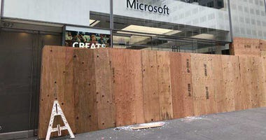 Looted Microsoft Store