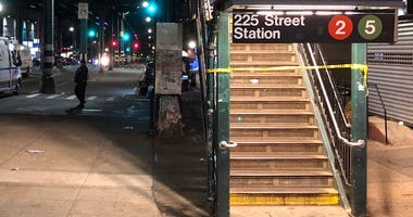 Site of 225 Street station police-involved shooting