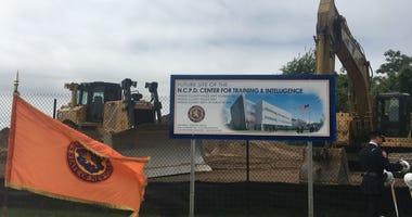 Nassau County Police Academy groundbreaking