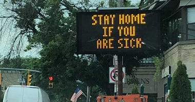 Stay Home If You Are Sick Sign