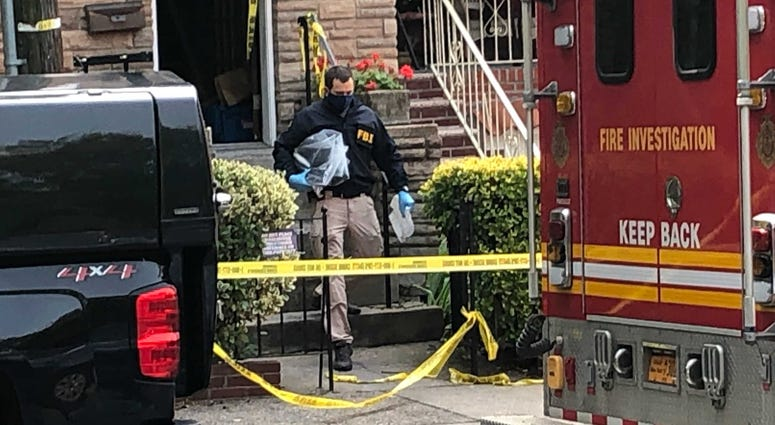 Queens fire suspected bomb-making materials