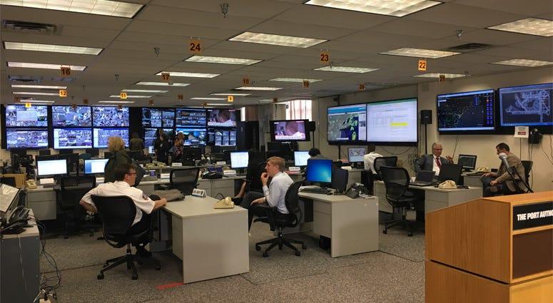 JFK Airport Emergency Operations Center