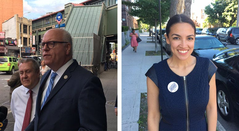 Rep. Joe Crowley, Alexandria Ocasio-Cortez