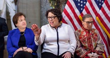 Elena Kagan, Sonia Sotomayor, Ruth Bader Ginsburg