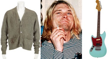 Kurt Cobain Auction items
