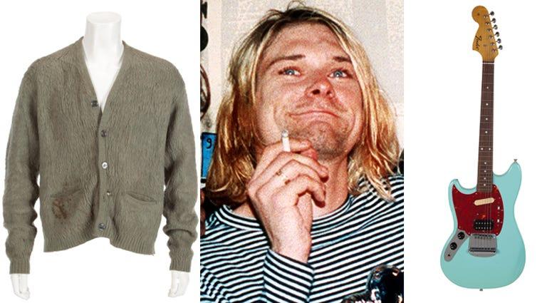 Kurt Cobain Auction items