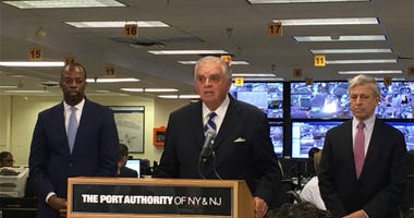 Ray LaHood At JFK Airport