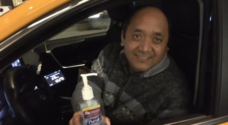 NYC cab driver