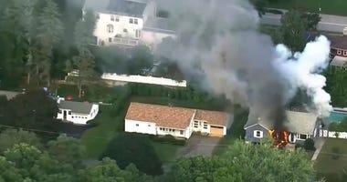 Massachusetts Gas Fires