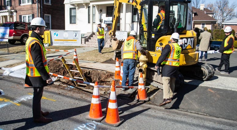 NJ Replacing Lead Pipes