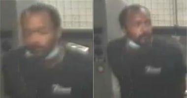 Subway Shove Suspect