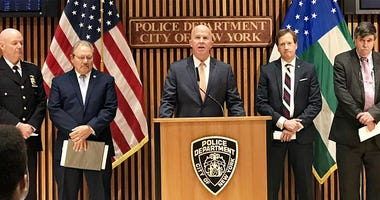 NYPD Officer Arrests News Conference