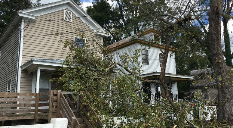 Florence: Storm Damage In New Bern, North Carolina