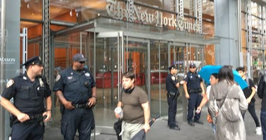 Counterterrorism Officers At New York Times