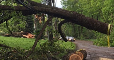 Storm Damage in New Fairfield