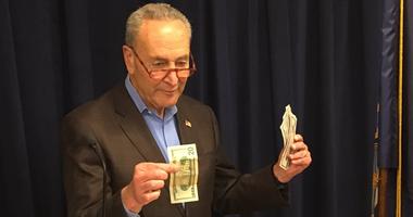 Schumer fake money