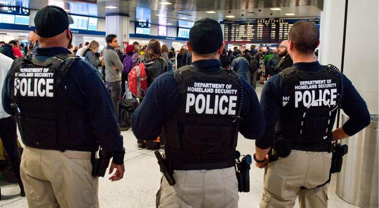 Homeland Security at Penn Station