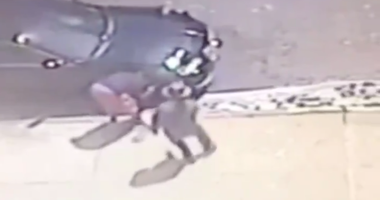 Surveillance video man shot East New York