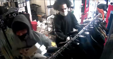 Soho shop looted