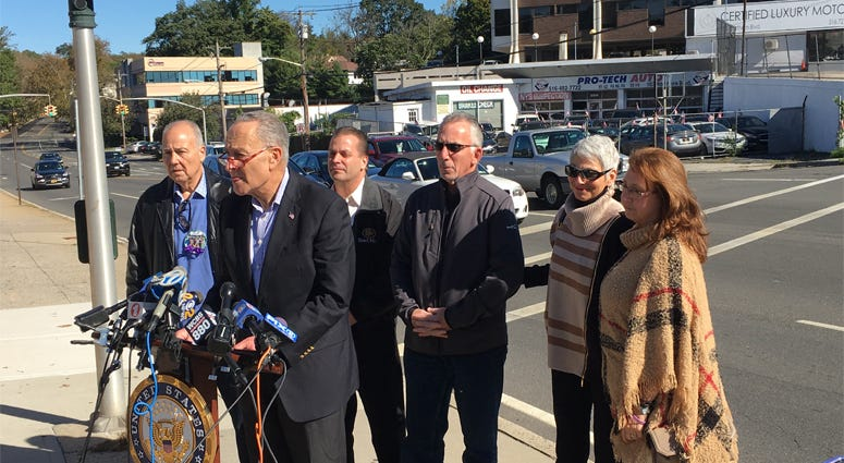Sen. Charles Schumer On Limo Safety