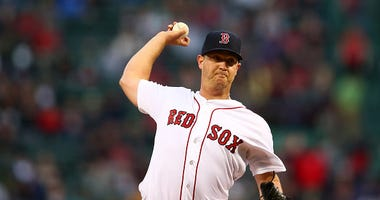 Steven Wright of the Boston Red Sox