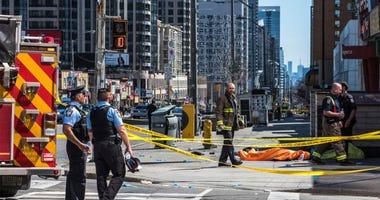 Toronto Pedestrians Struck