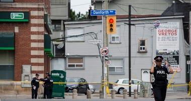 Toronto Shooting Scene