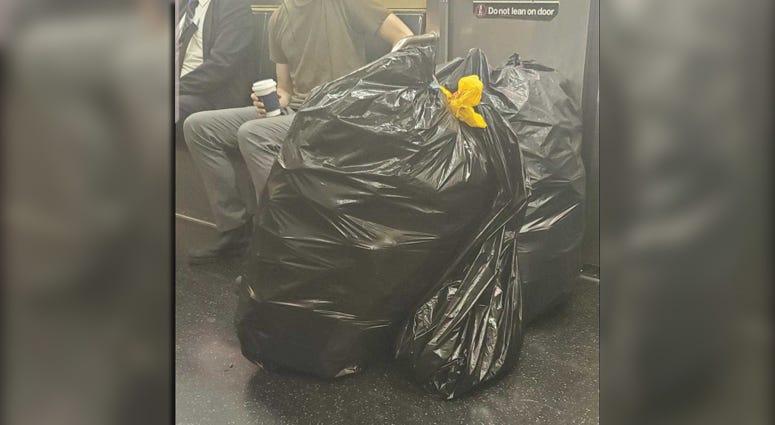 Dirty subway car