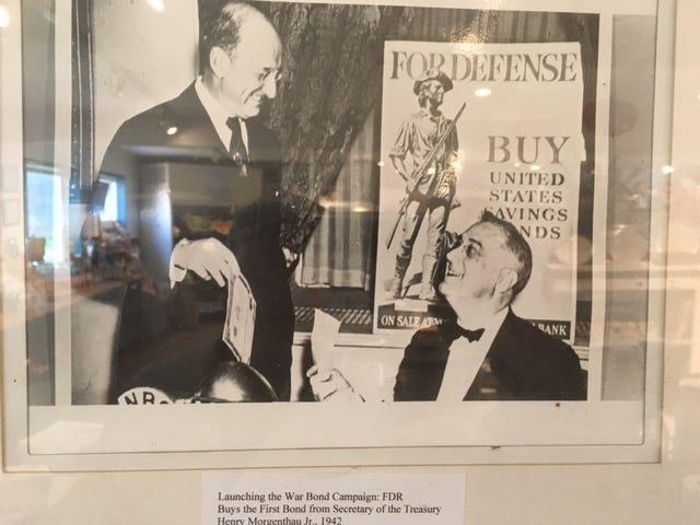 Treasury Secretary Henry Morgenthau Jr. And President Franklin D. Roosevelt