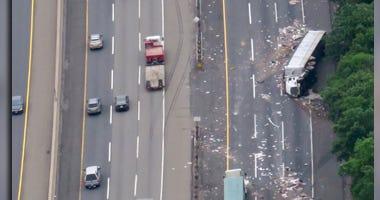 New Jersey Turnpike Crash