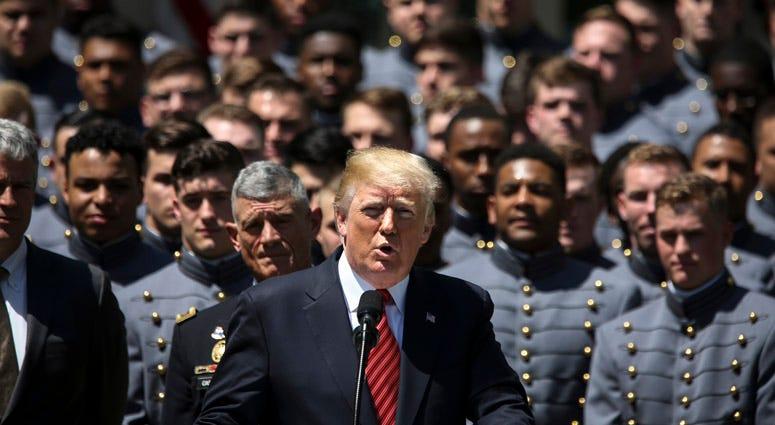 President Donald Trump Honors Army Football Team