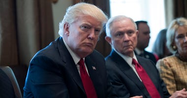 President Donald Trump, Jeff Sessions