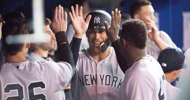 New York Yankees right fielder Giancarlo Stanton