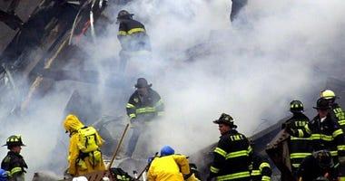 First responders at Ground Zero