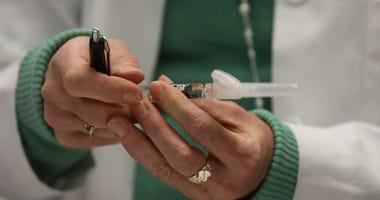 Measles shot