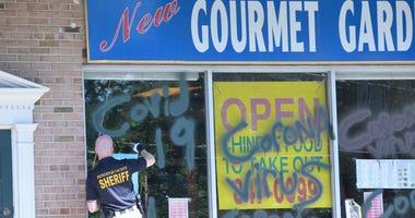 Chinese restaurant vandalized in Wyckoff