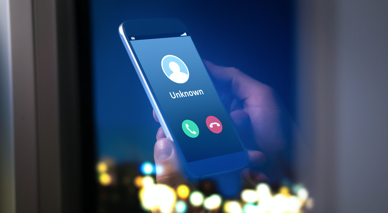Unknown Phone Caller