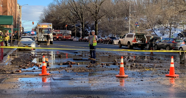 Water main UWS