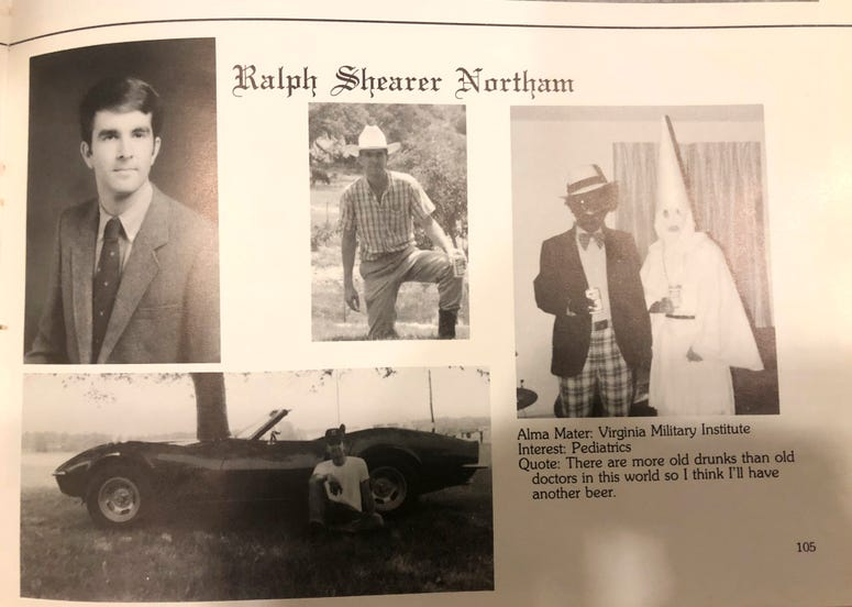 Gov. Ralph Northam's page