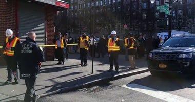 Harlem subway fire