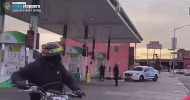 Bikers Harassing Officers