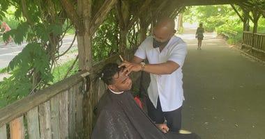 Central Park barber